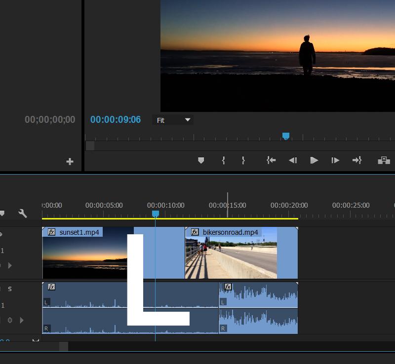 L cut - Antecipe o áudio do primeiro corte - Melhore sua técnica de edição