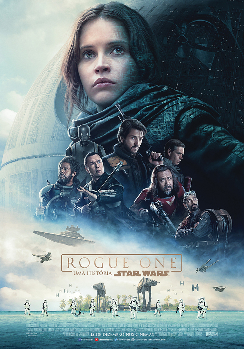 Cinema 2016 - Rogue One - Uma história Star Wars