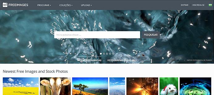Clique na imagem para acessar o Free Images – Banco de imagens grátis