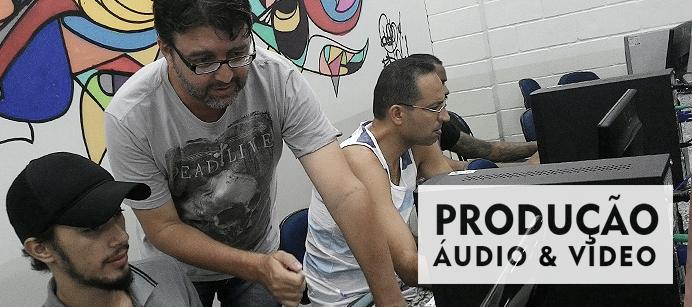 cursos áudio e vídeo